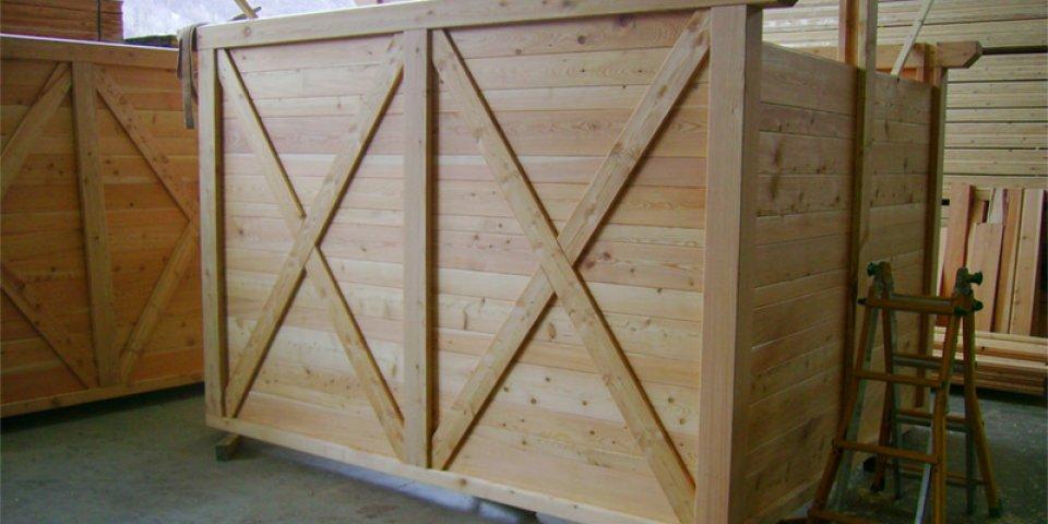 Strutture in legno da prada legnami vendita legno for Mazzo per esterni in legno